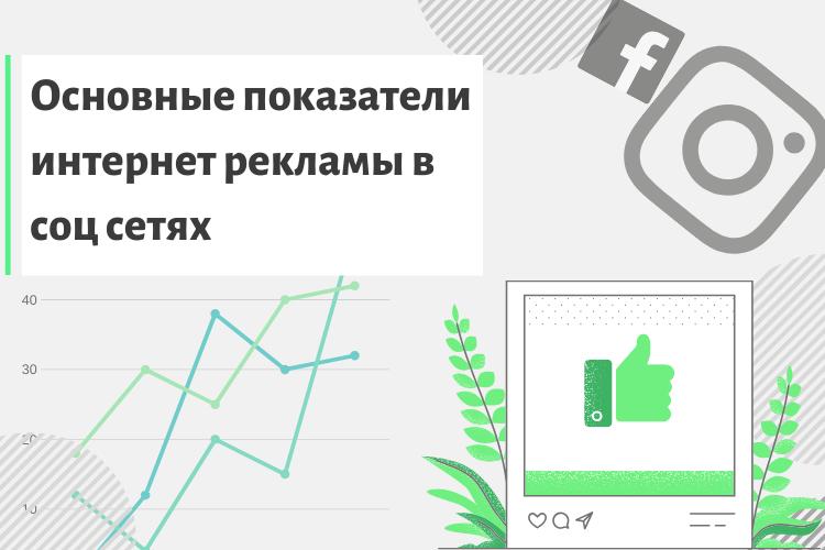 Основные показатели эффективности рекламы в соц сетях